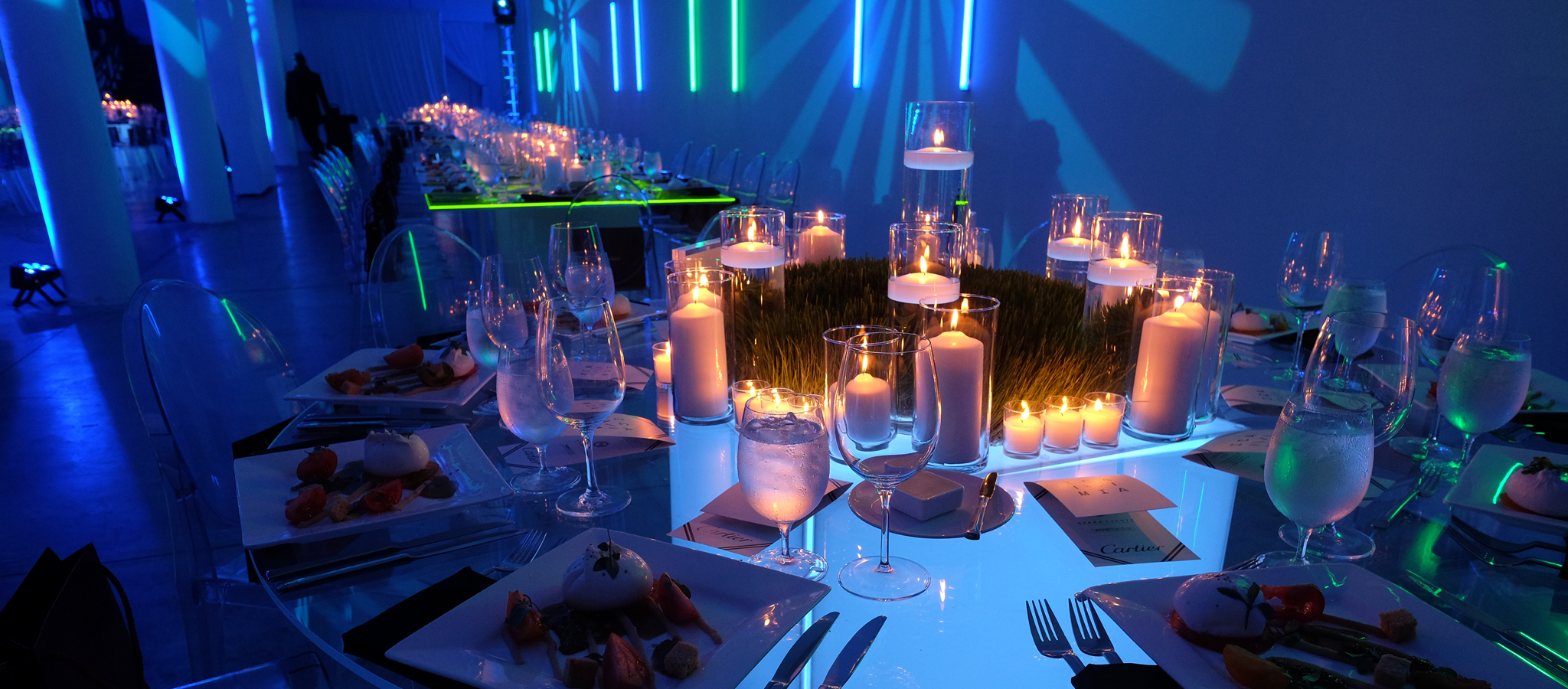 Neon Corporate Dinner So Cool Events