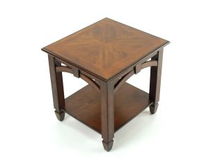 Mahogany Arch End Table