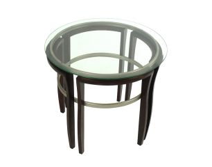 Pewter End Table