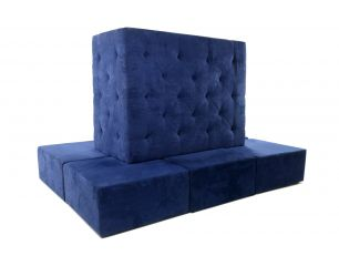 Island Twilight Blue Banquette