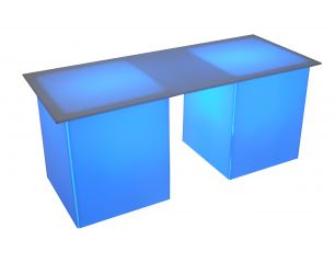 Lighted Buffet Table