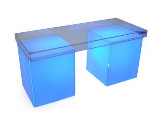 Shadow Box Table Lighted