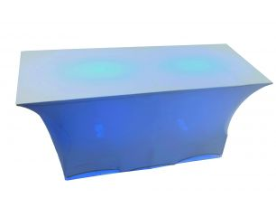 Spandex Buffet Table Lighted